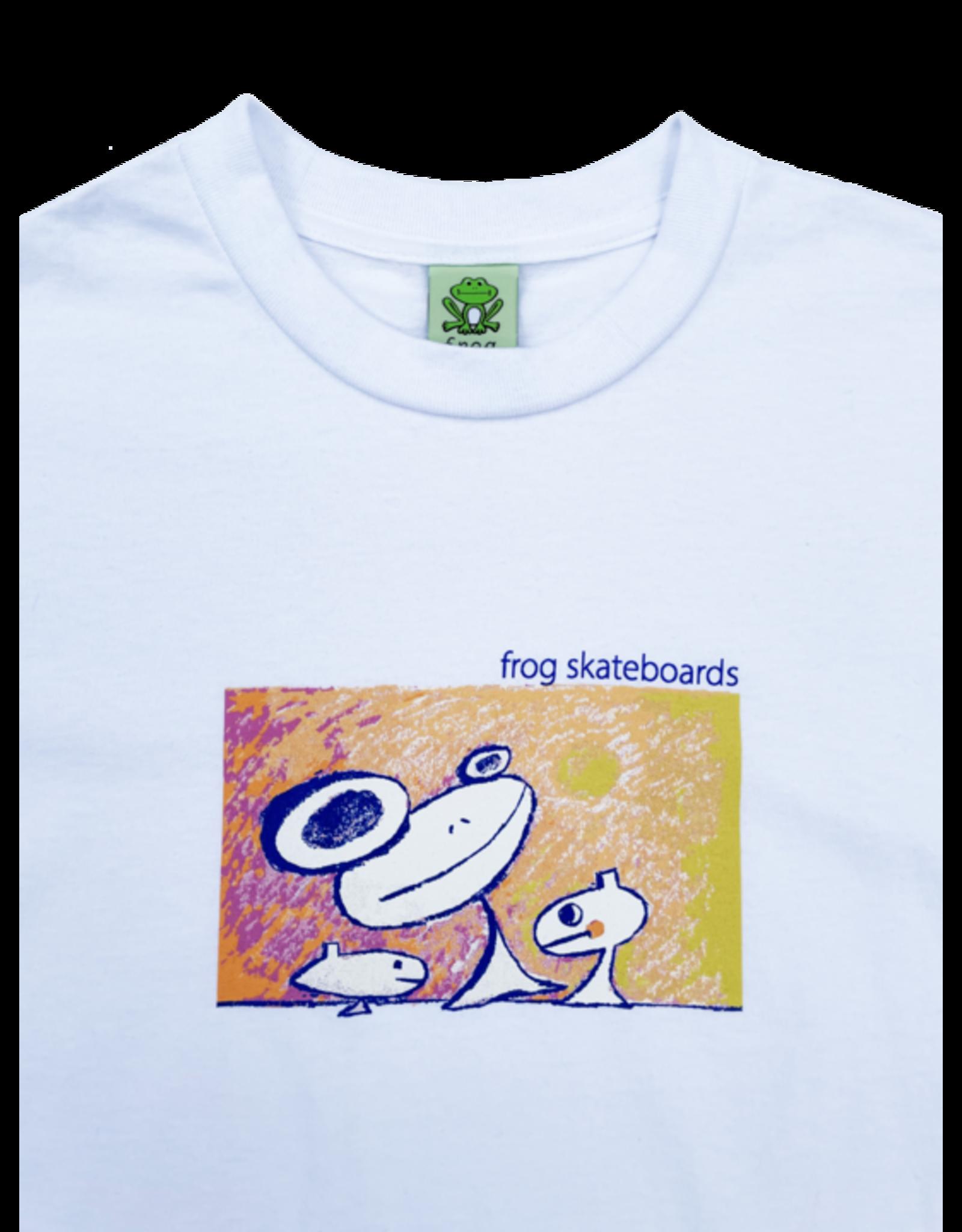 Frog Floating Again Tee - White