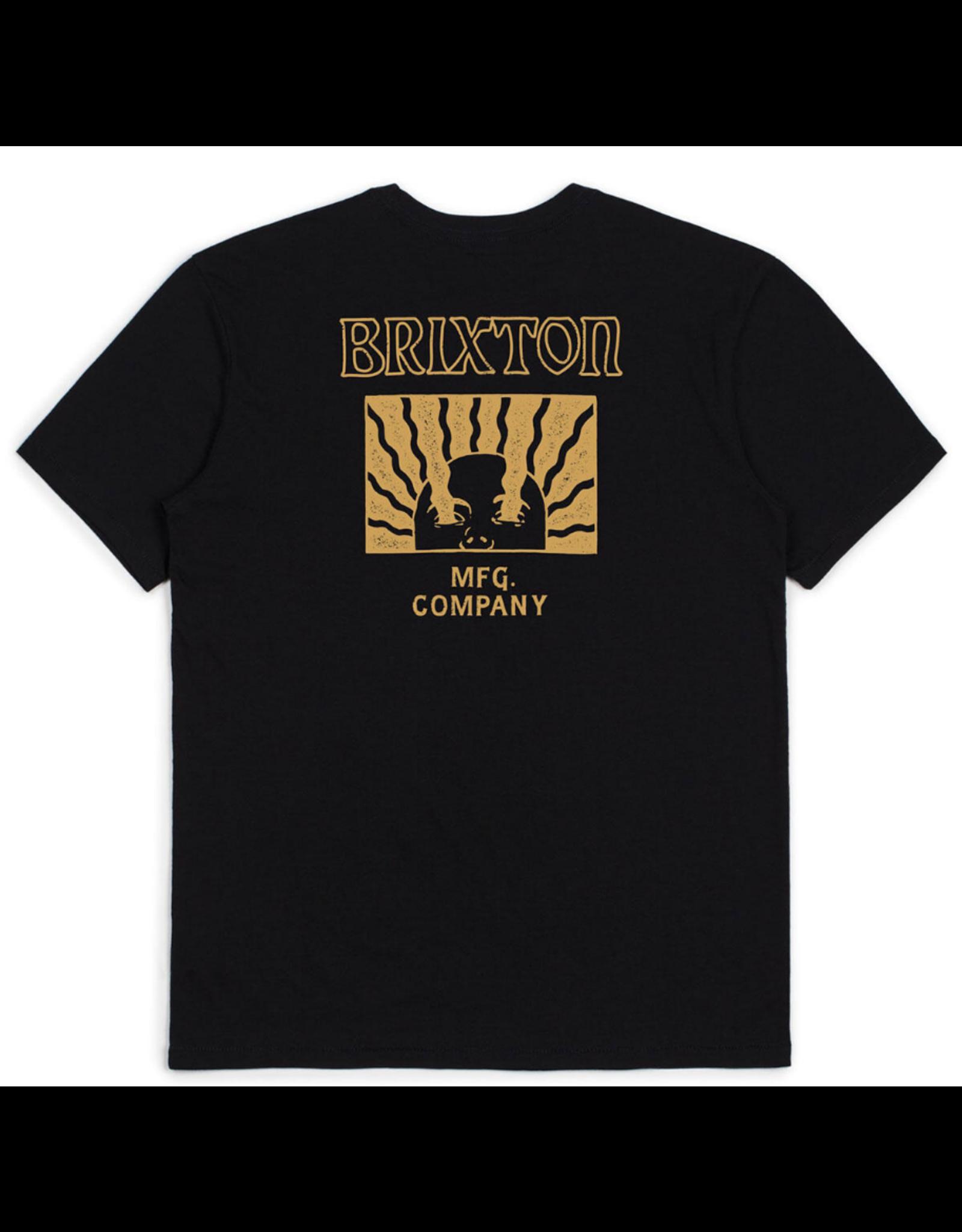 Brixton Heed S/S Tailored Tee - Black