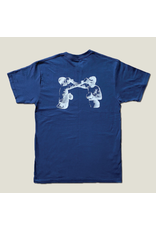 Pagaille Boxing Tee - Navy