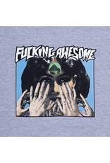 Fucking Awesome Fortune Teller Tee - Heather Grey