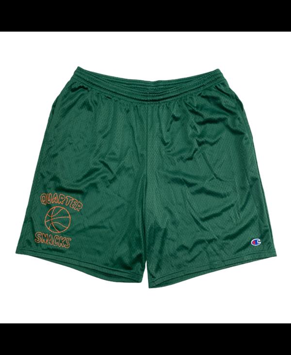 Ball Is Life Mesh Shorts - Athletic Dark Green