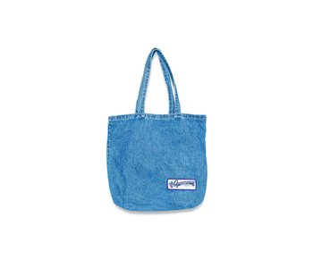 Grocery Patch Tote - Denim