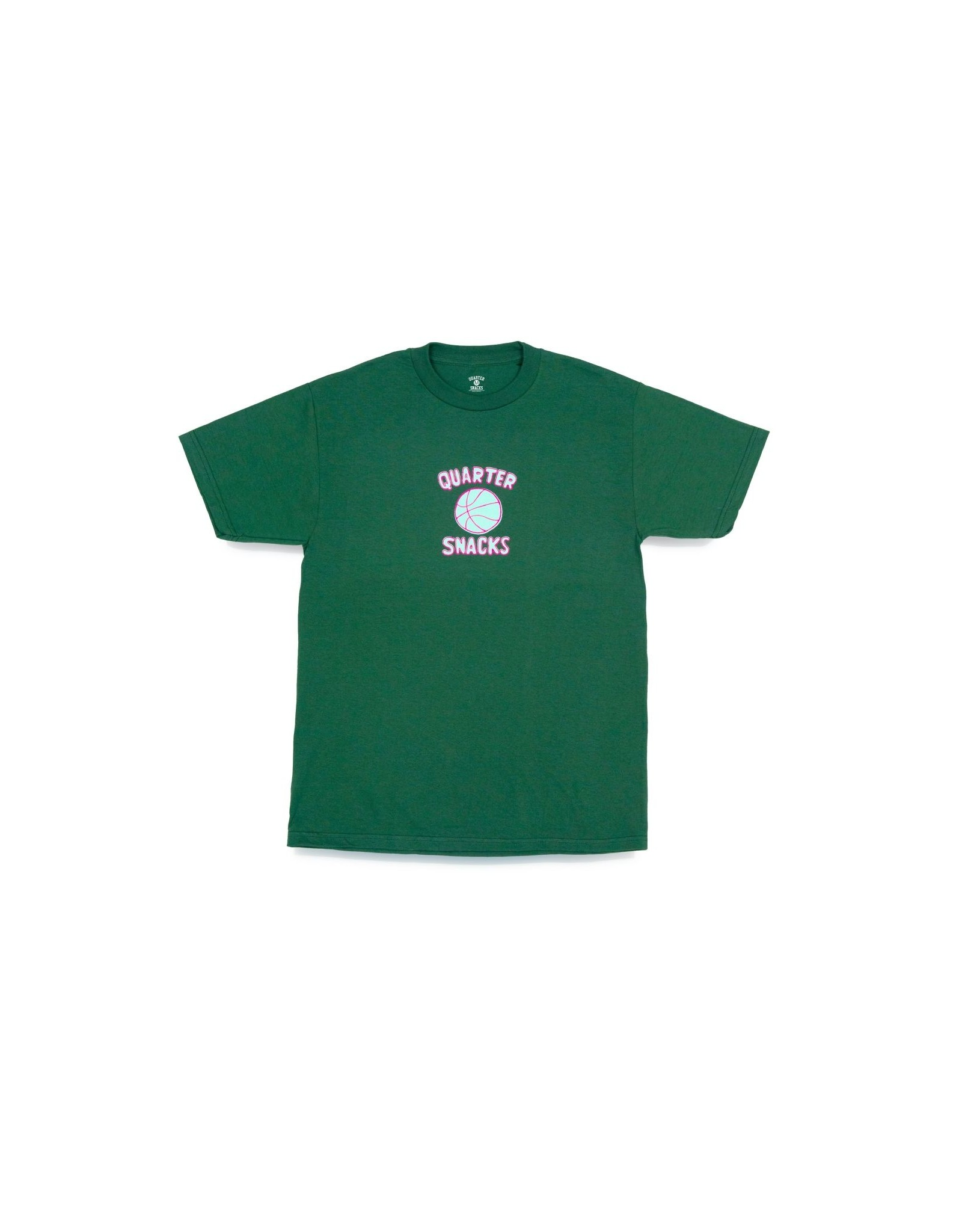 QuarterSnacks Ball Is Life Tee - Forest Green