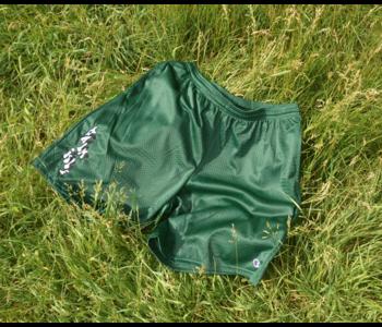 Baltimore Embroidered Mesh Shorts - Dark Green