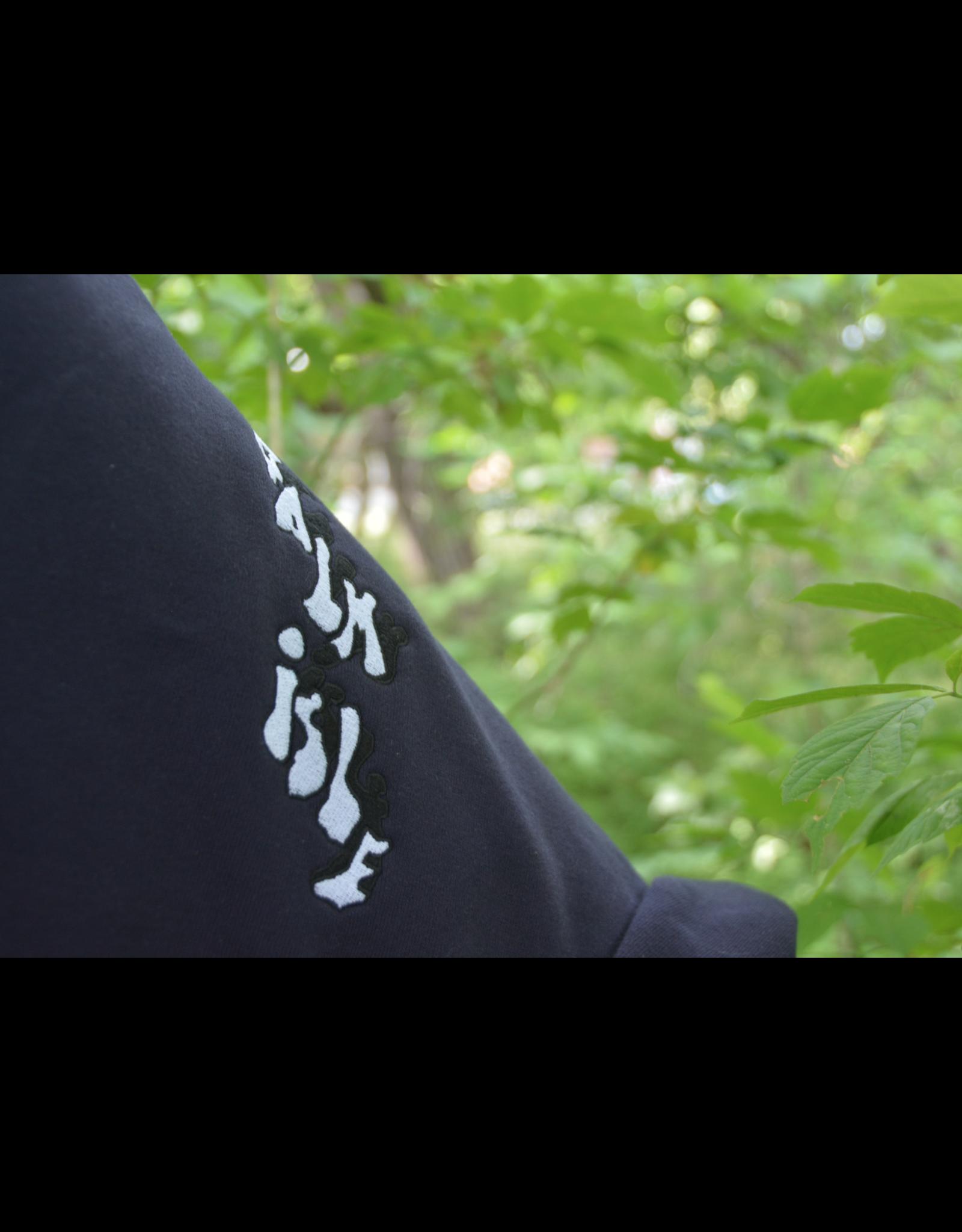 Palm Isle Baltimore Embroidered Hood - Dark Navy