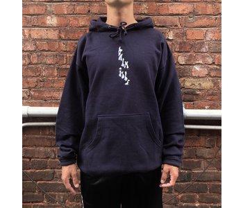 Baltimore Embroidered Hood - Dark Navy