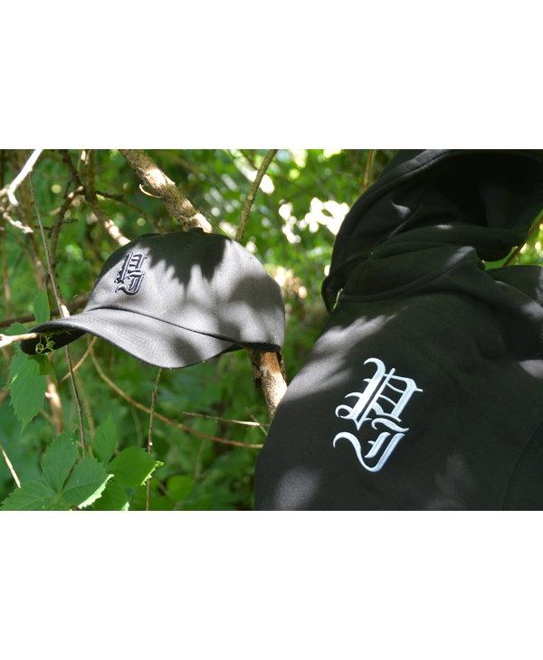 Stamp Zip-Hood - Black