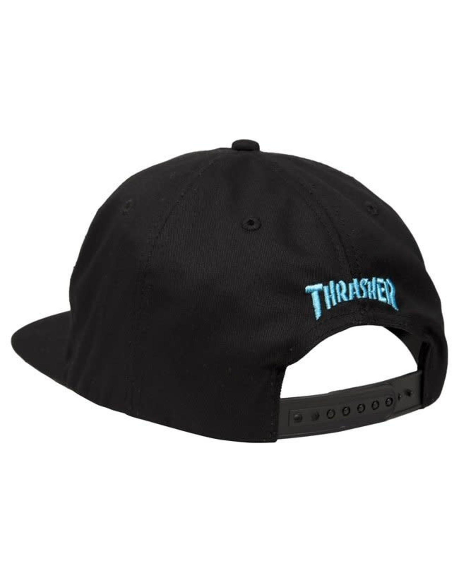 Thrasher Leopard Mag Snapback - Black