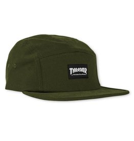Thrasher 5 Panel Hat - Army