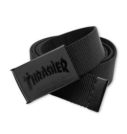 Thrasher Flame Web Belt - Black