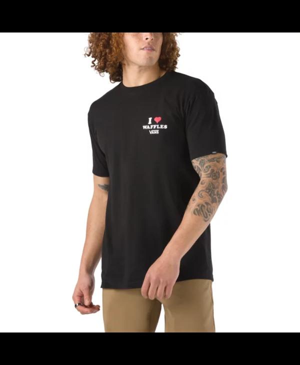 Fresh Waffles Daily T-Shirt - Black