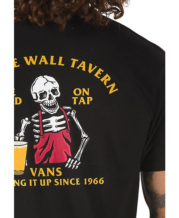 Off The Wall Tave T-Shirt - Black