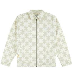 Dime Puzzle Twill Jacket - Cream