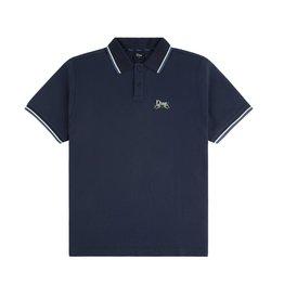 Dime Grass Polo Shirt - Navy