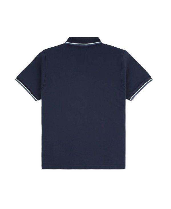 Grass Polo Shirt - Navy