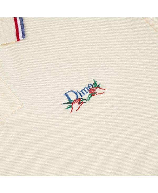 Grass Polo Shirt - Cream