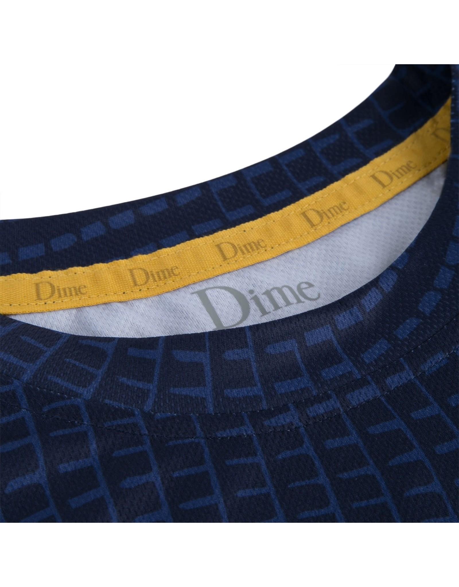 Dime Warp Sports T-Shirt - Blue