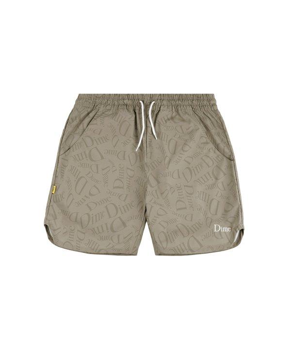 Allover Shorts - Tan
