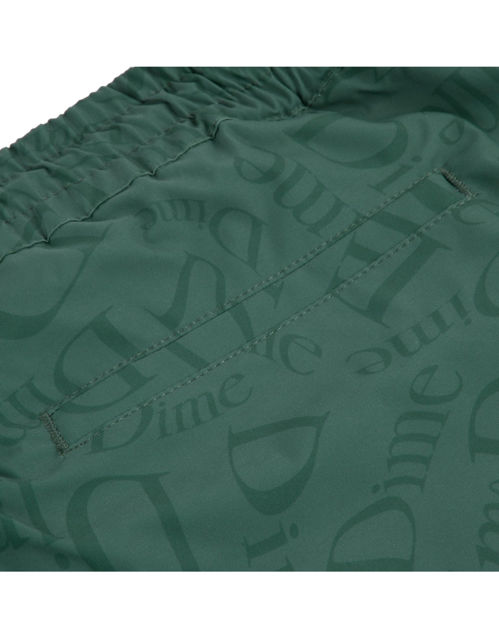 Dime Allover Shorts - Dark Green