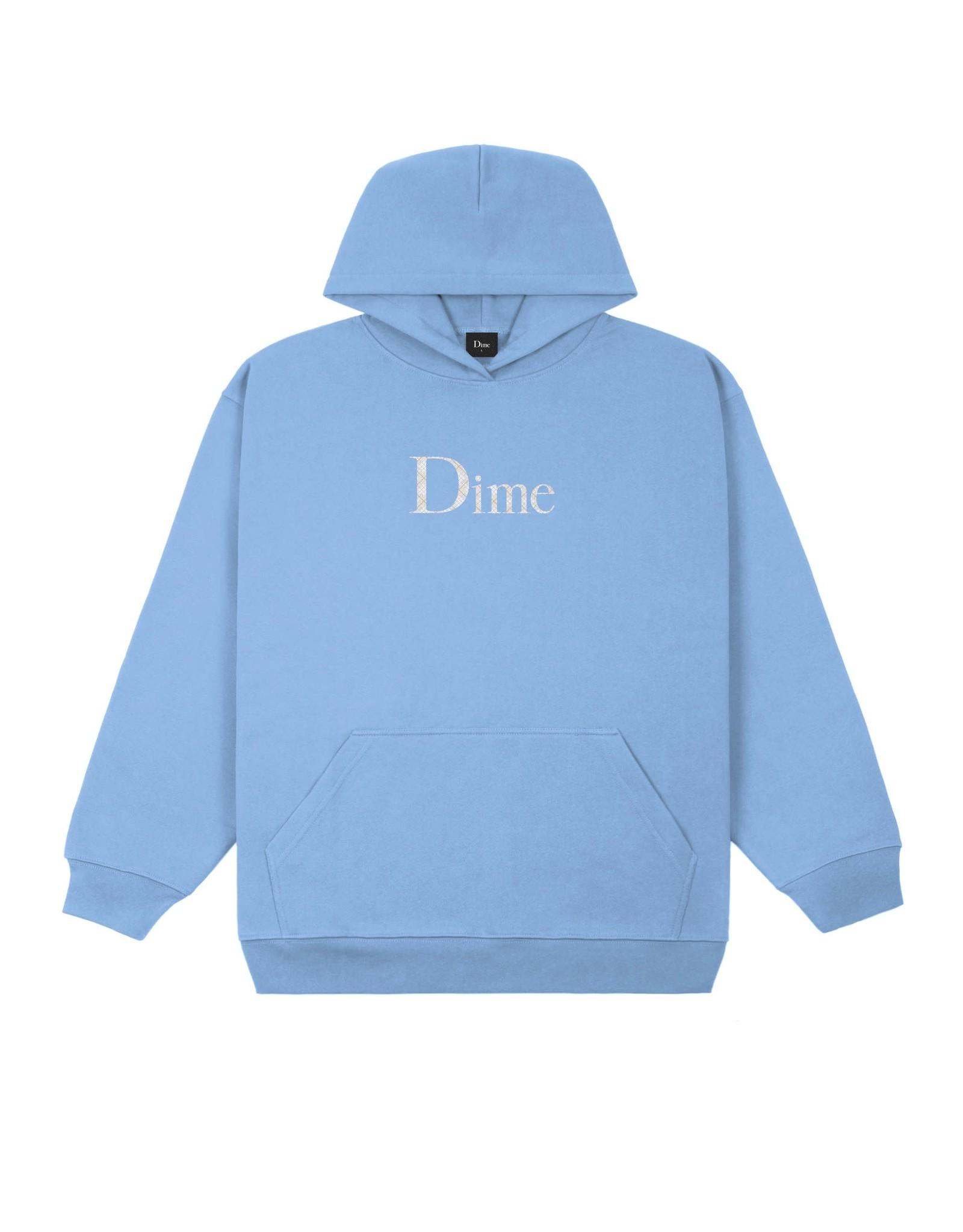 Dime Classic Plaid Hoodie - Carolina Blue