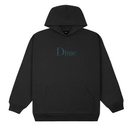 Dime Classic Plaid Hoodie - Black