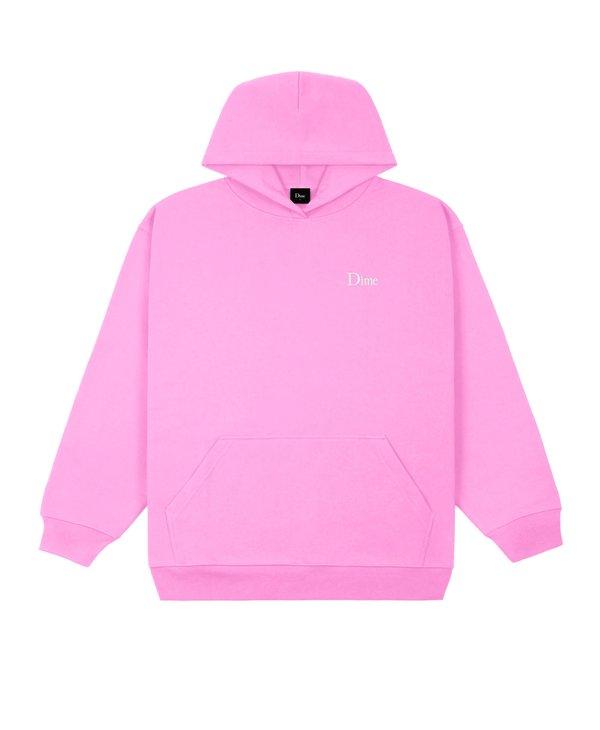Classic Small Logo Hoodie - Light Pink