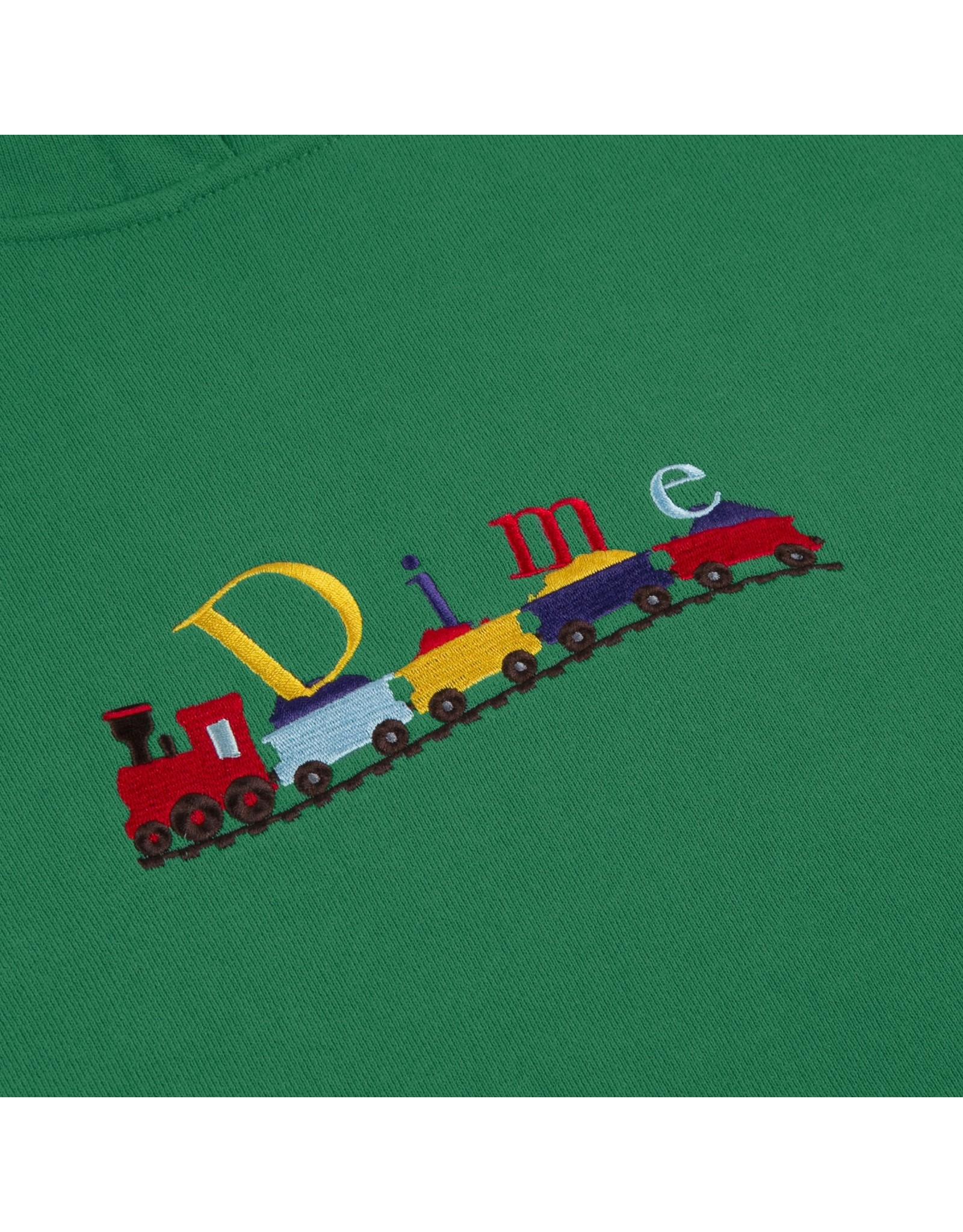 Dime Train Hoodie - Green