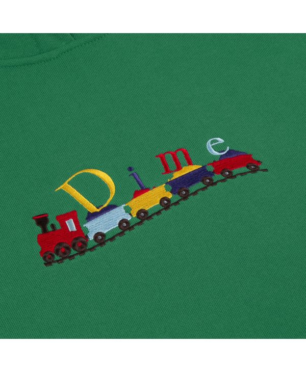 Train Hoodie - Green