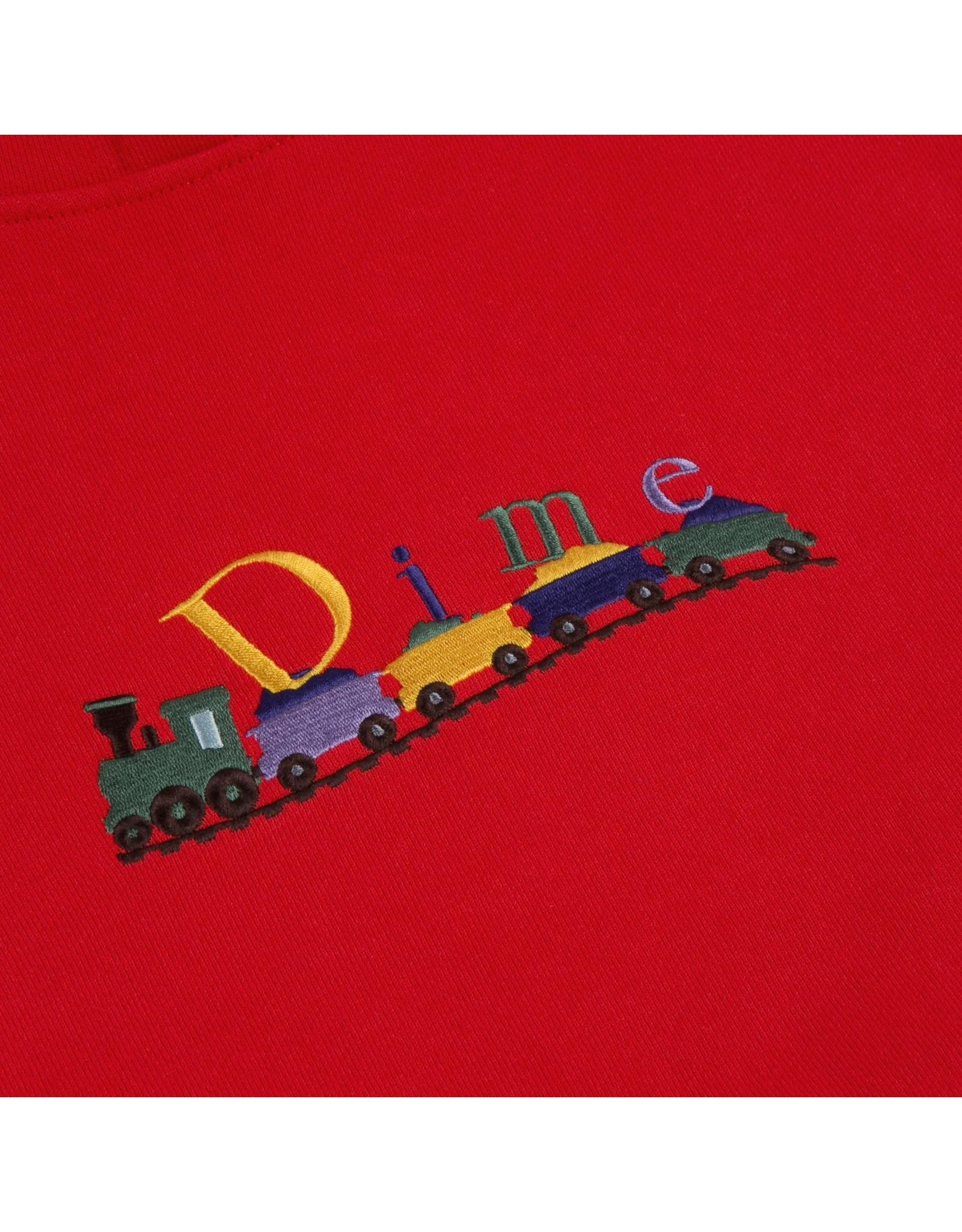 Dime Train Hoodie - Cherry