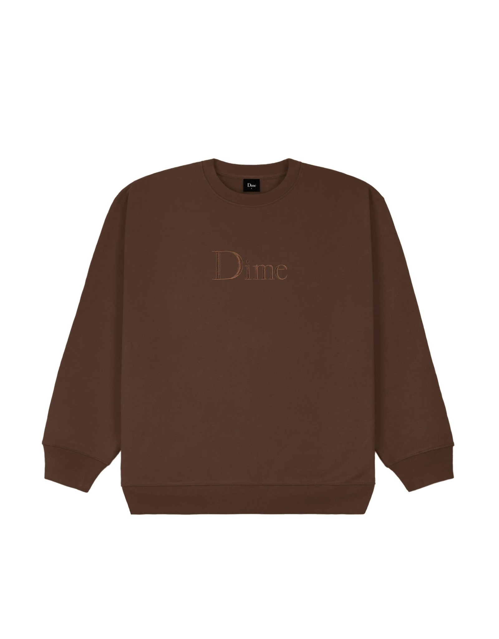 Dime Classic Crewneck - Stray Brown
