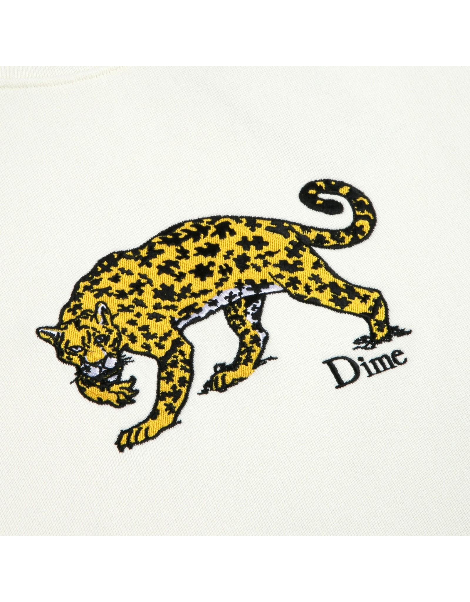 Dime Puzzle Cat Crewneck - Cream