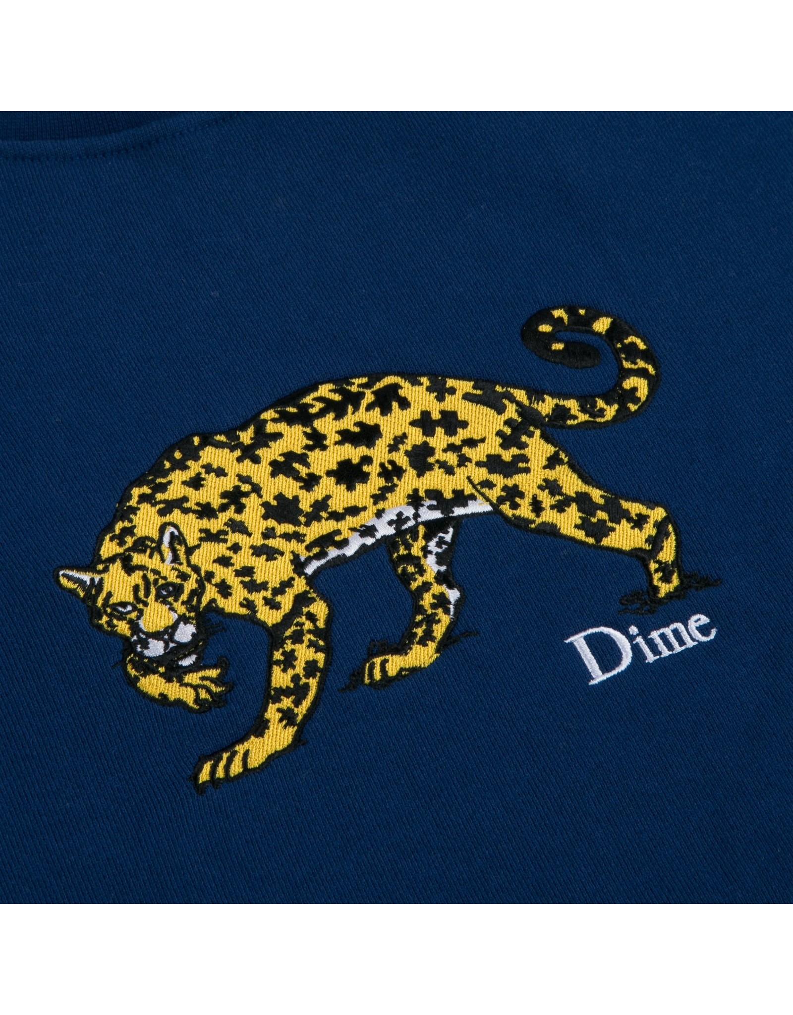 Dime Puzzle Cat Crewneck - Navy