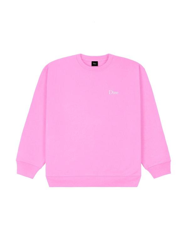 Small Logo Crewneck - Light Pink