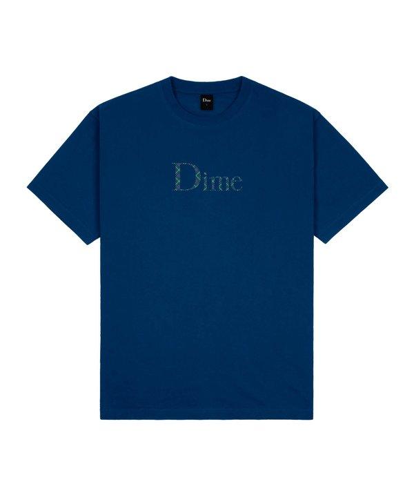 Classic Plaid T-Shirt - Navy