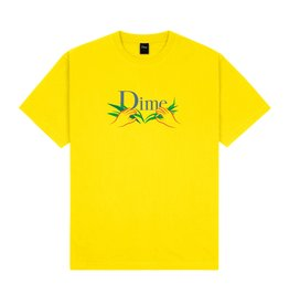 Dime Classic Grass T-Shirt - Yellow