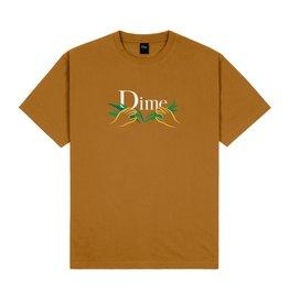 Dime Classic Grass T-Shirt - Coffee