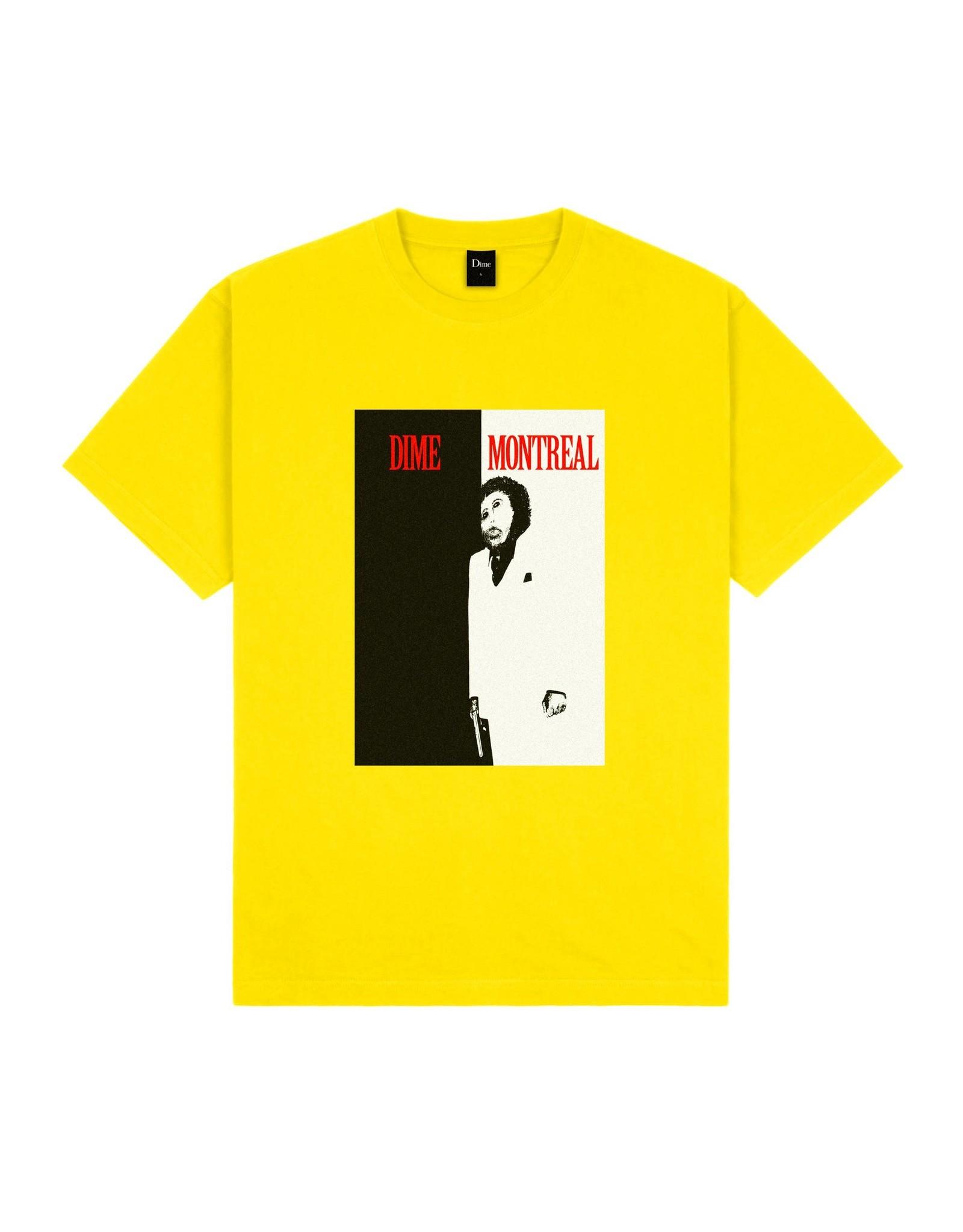 Dime Restoration Face T-Shirt - Yellow