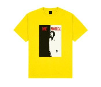Restoration Face T-Shirt - Yellow