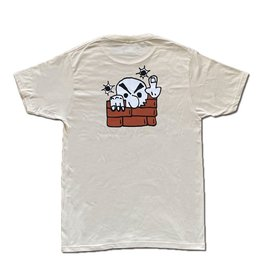Frosted Missed Shot T-Shirt - Cream