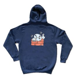 Frosted Missed Shot Hoodie - Navy