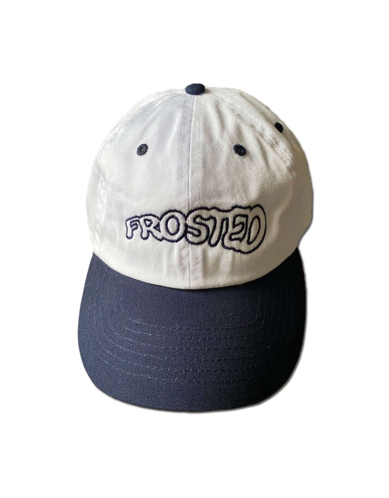 Frosted Team Logo Cap -White/Blue