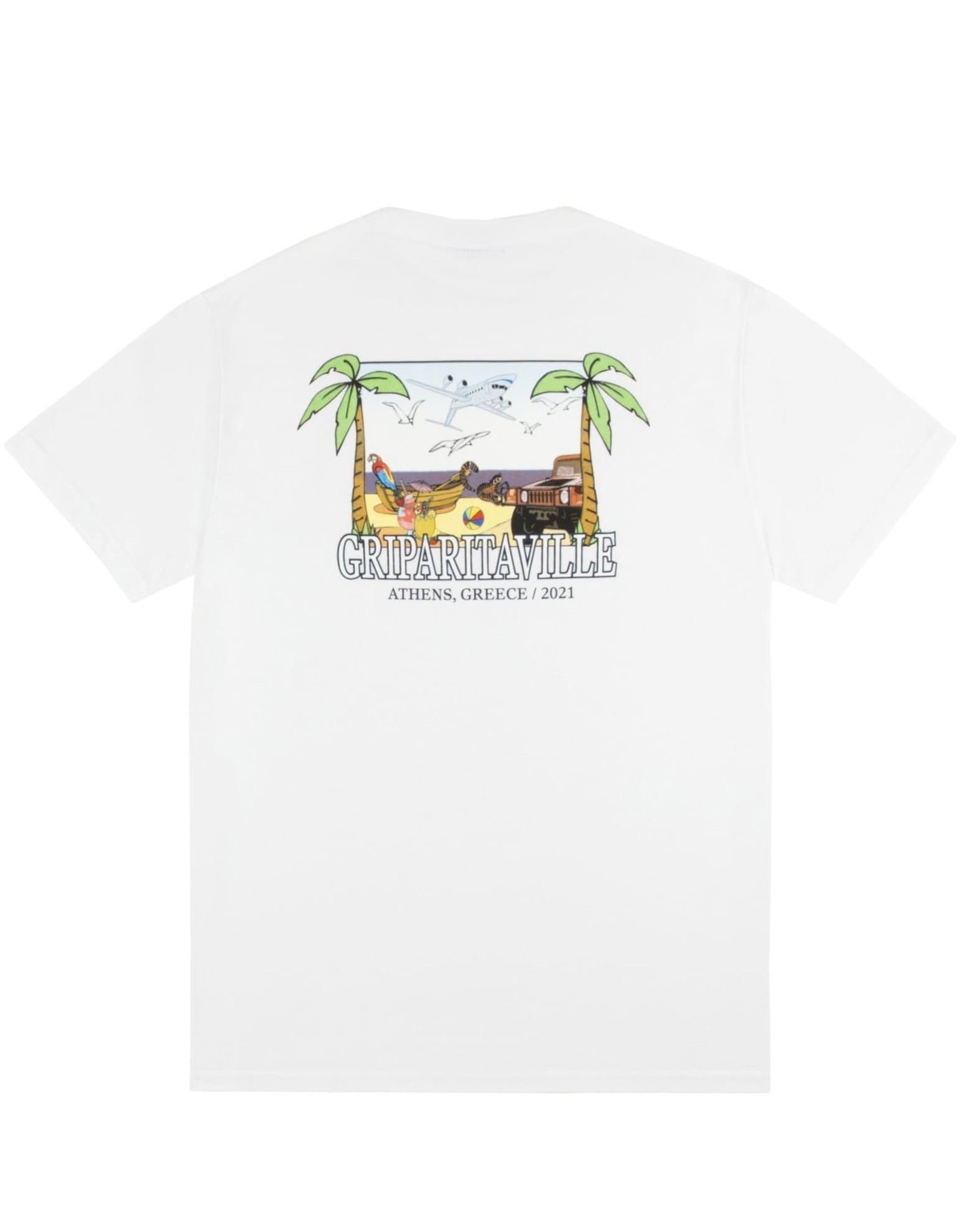 Classic Griparitaville T-Shirt - White