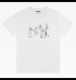 Classic Confused Cartoons - White