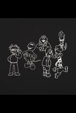 Classic Confused Cartoons - Black
