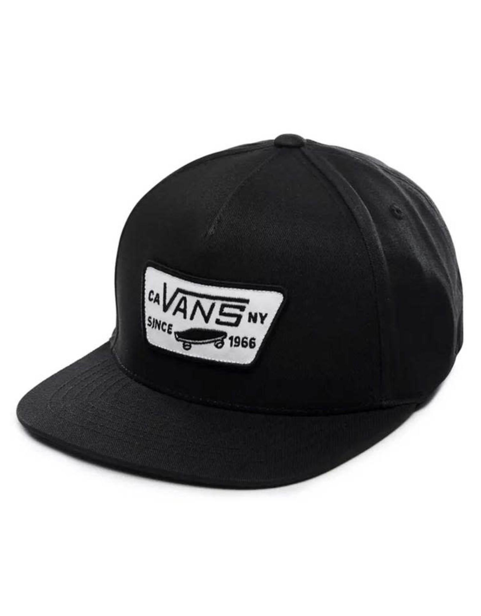 Vans Boys Full Patch Snapback - True Black