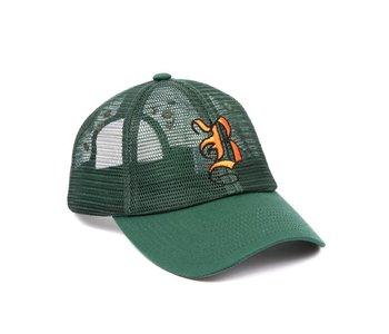 B Mesh Hat - Green