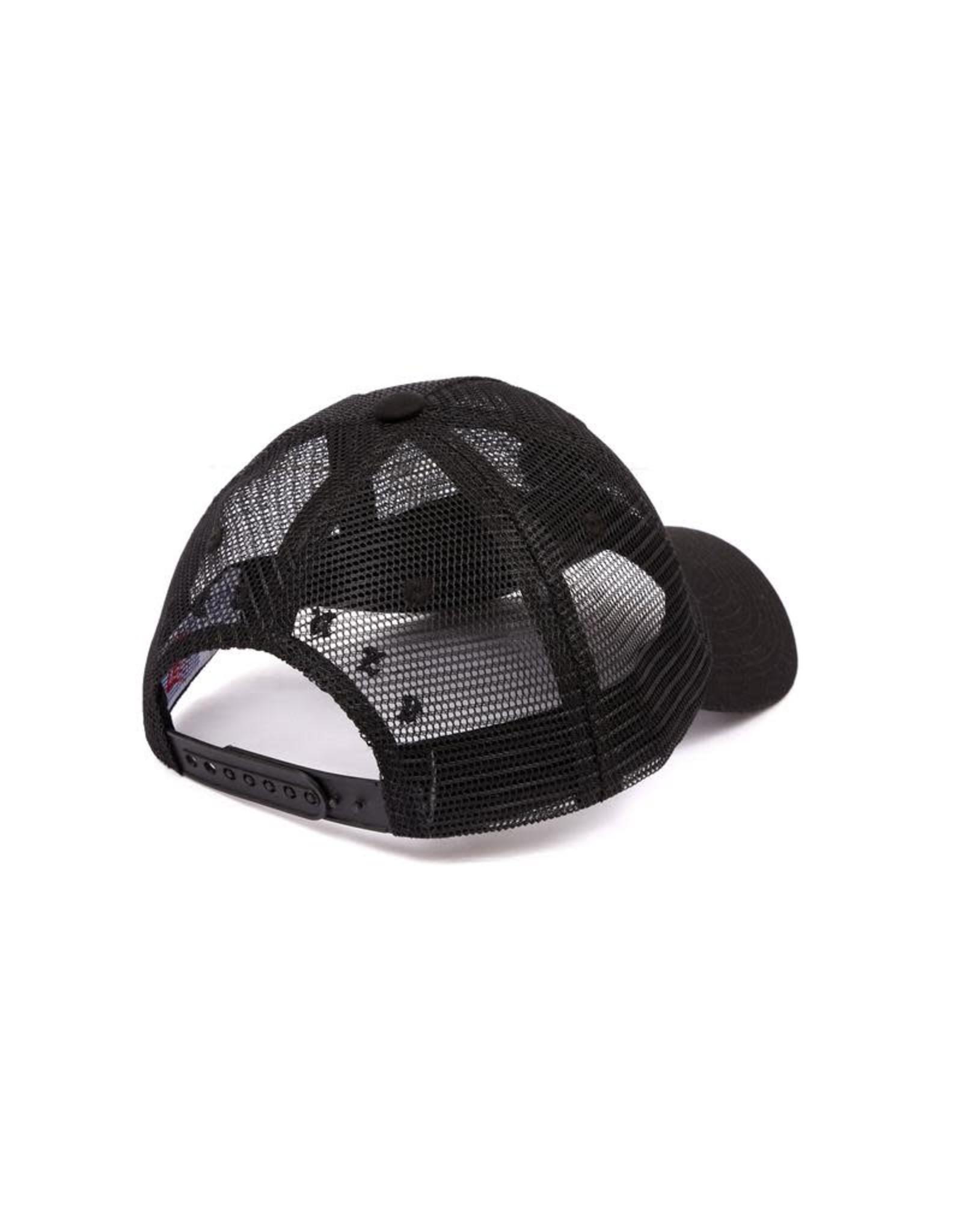Bronze56K B Mesh Hat - Black