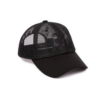 B Mesh Hat - Black