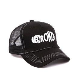 Bronze56K Footprint Trucker Hat - Black
