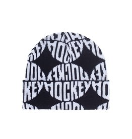 Hockey Sewer Beanie - Black